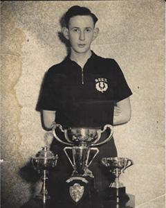 Bert Kerr & Trophies