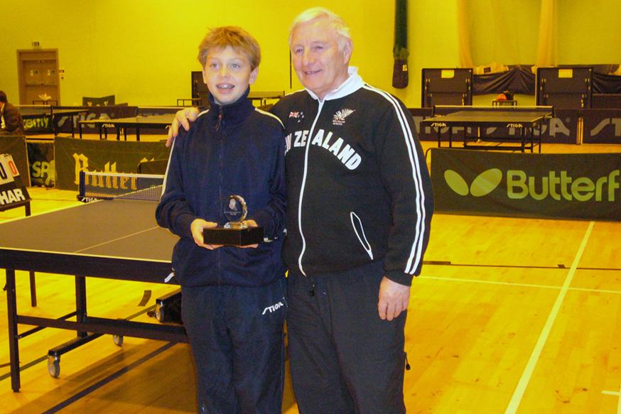 Colin Dalgleish Cadet Runner Up