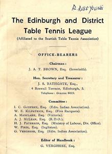 E & L Officials 1930's