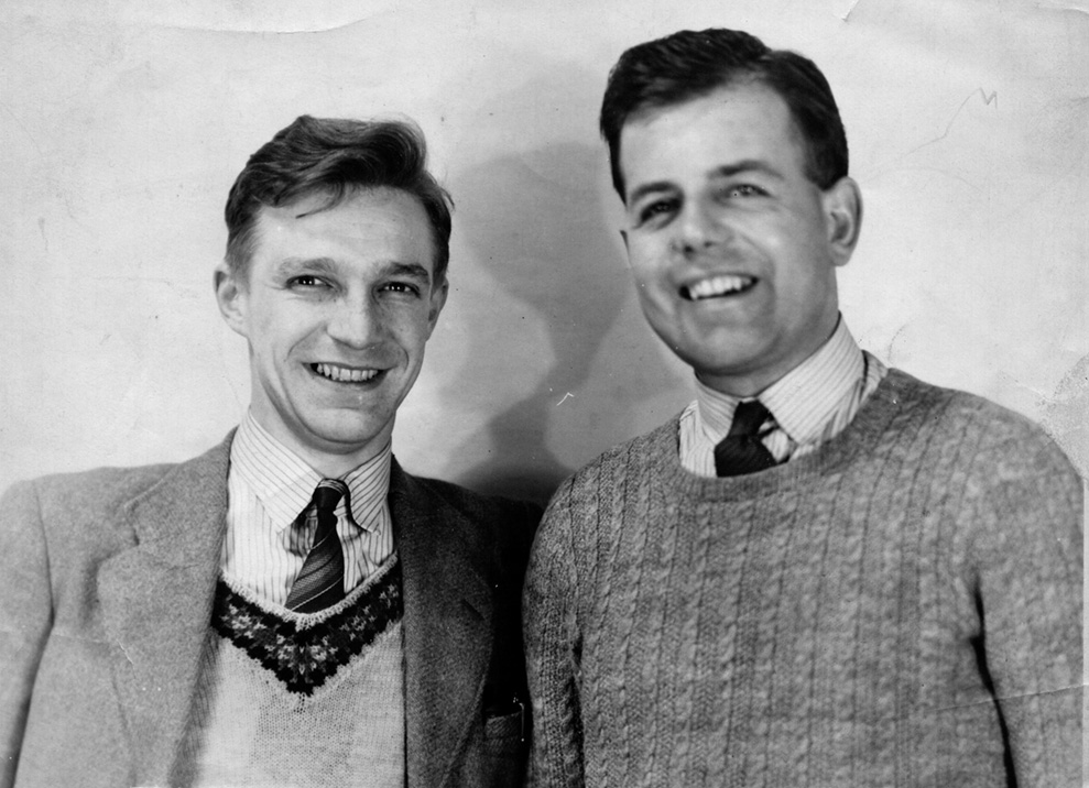 Gerry Hawkins & Jack Hillan