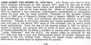 JAT Brown Potted  History
