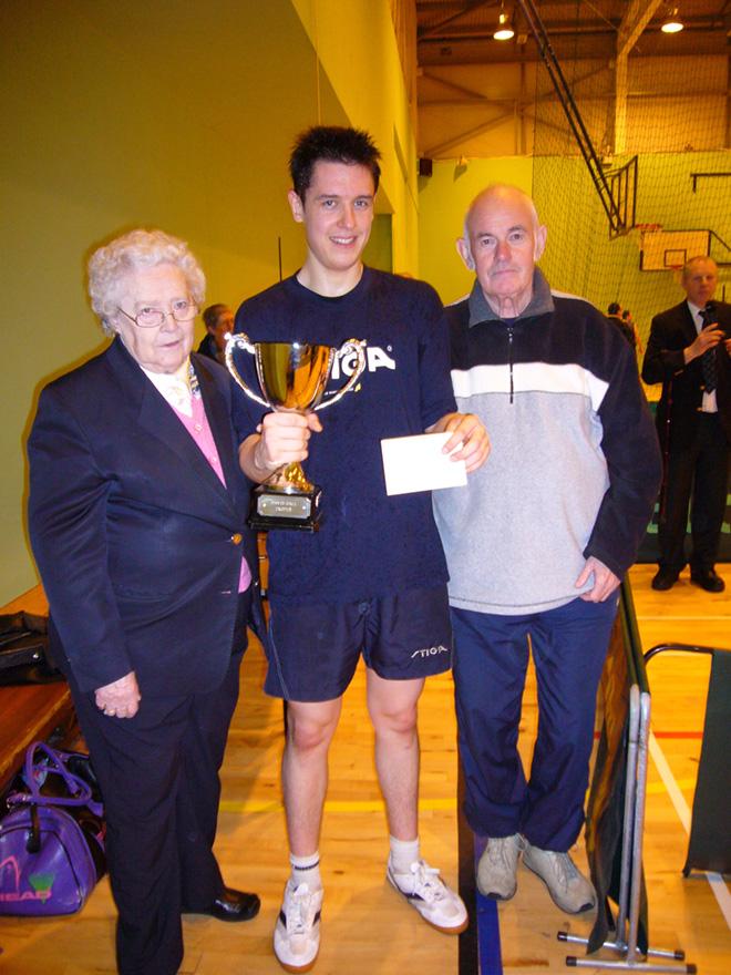 Kenny Lindsay Lothians Open Winner 2007