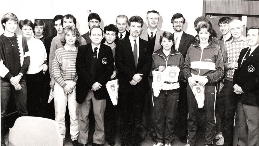 V Ireland-Dumbarton 1985