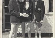 Tommy McMichael, Helen Eliott & Bert Kerr