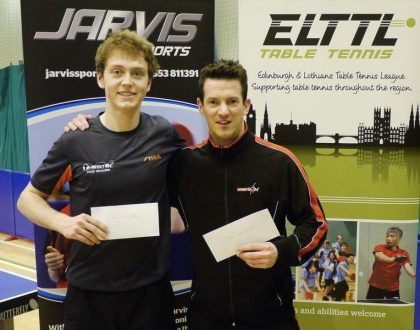Jarvis Sports Edinburgh Open 2018 - January 6th & 7th