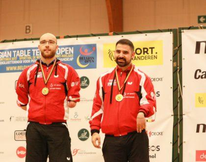 Four golds for British team in Belgium