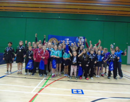 Girls team report Primary Schools 2018 - report by Lucy Elliott NPC