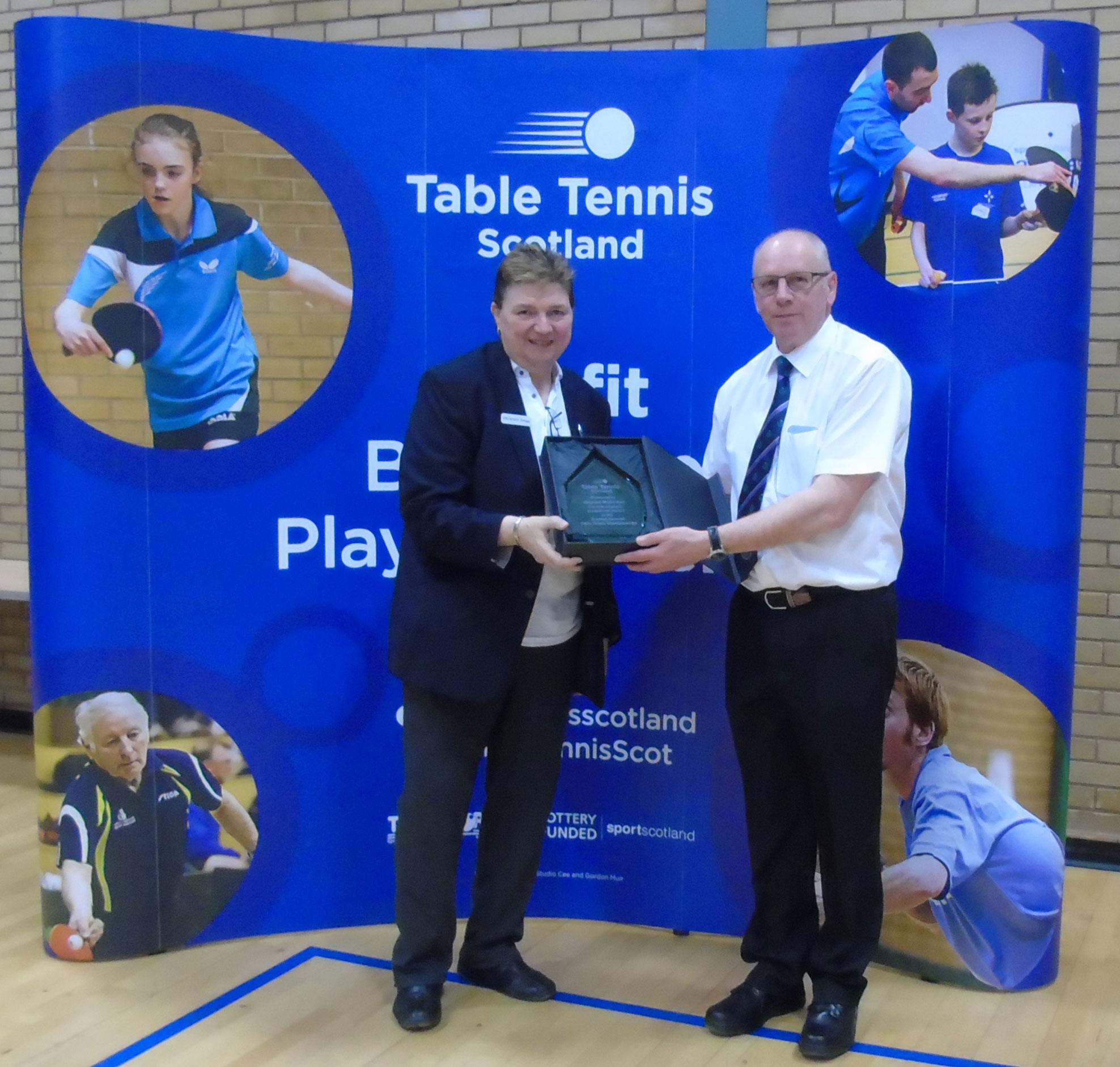 Exceptional Service Award: Stewart McGowan