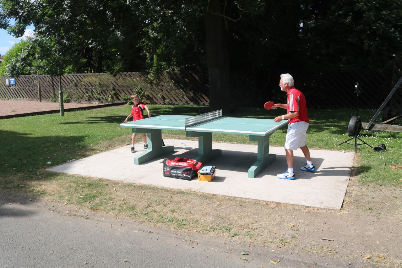 Table Tennis at the North Inch