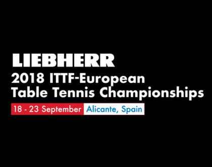 Liebherr 2018 ITTF – European Table Tennis Championships