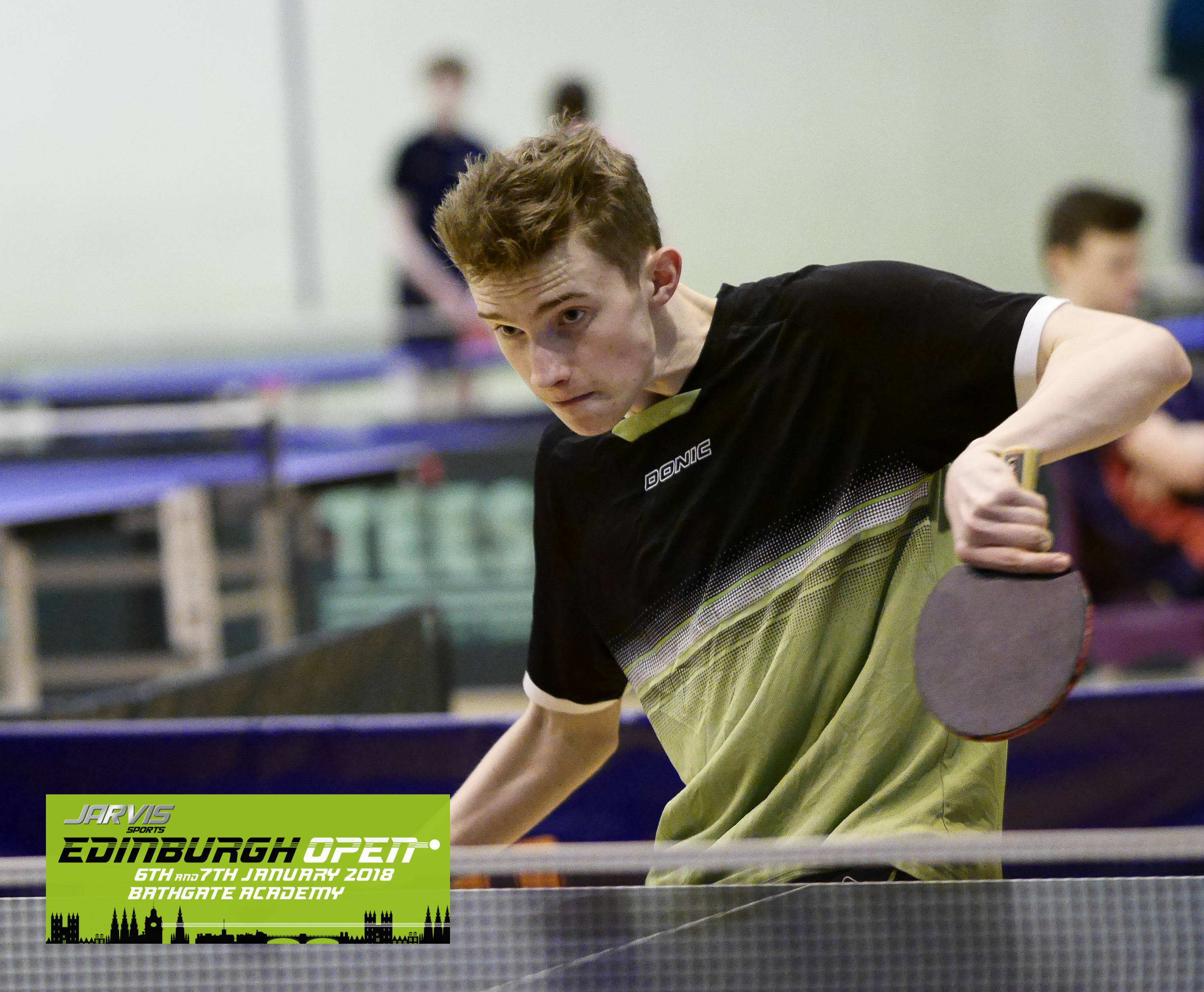 Jarvis Sports Edinburgh Open 2019 5th & 6th January - Player List