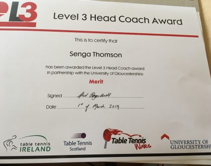 Congratulations to new Level 3 coaches