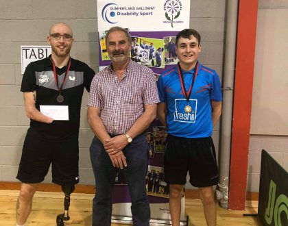 Hard fought titles at 1st Scottish Open Disability Event