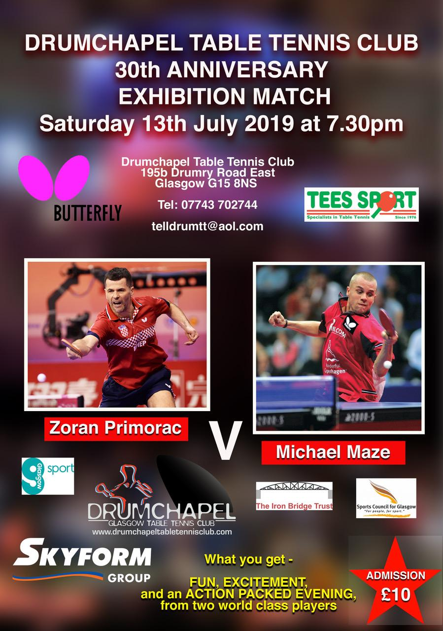 Drumchapel 30th Anniversary match 13th July 2019