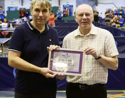 Lindsay Muir awarded Honorary Life Membership