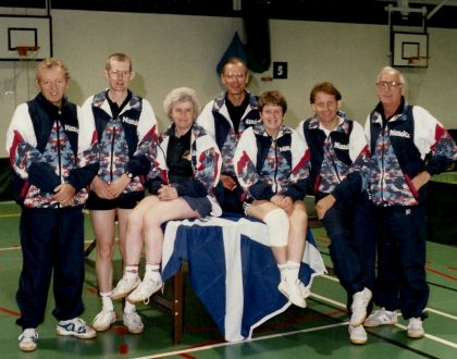 Johnny Campbell - A Continuing Life in Table Tennis