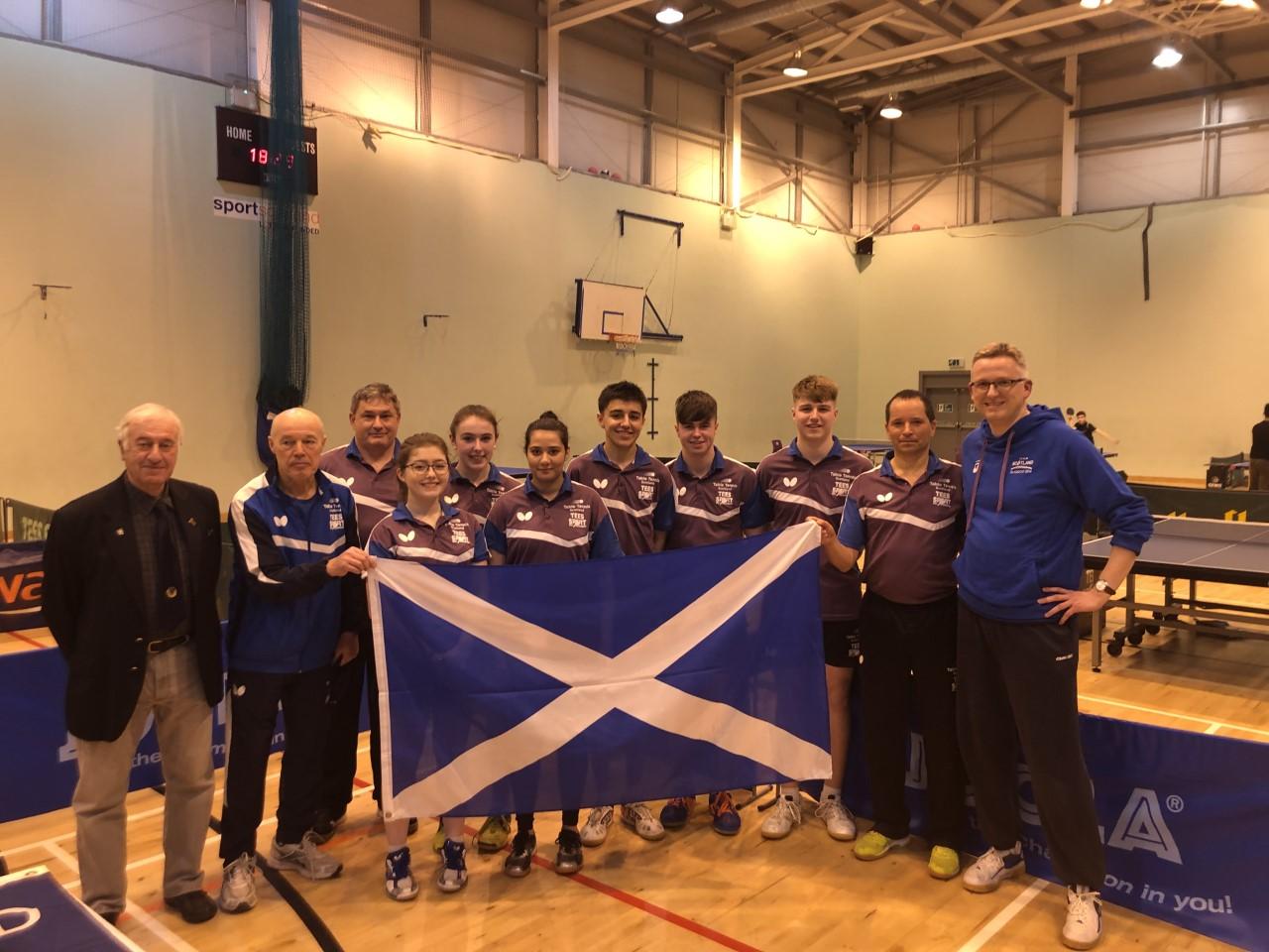 Scotland take the honours