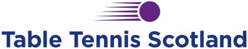 Table Tennis Scotland Logo Landscape CMYK