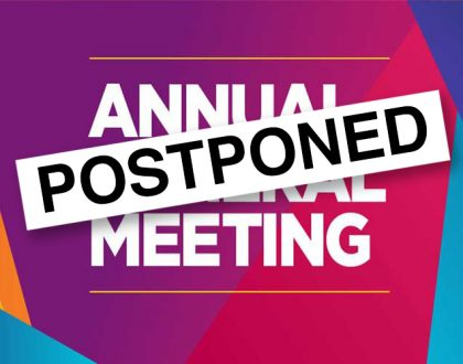 TTS AGM POSTPONED UNTIL FURTHER NOTICE