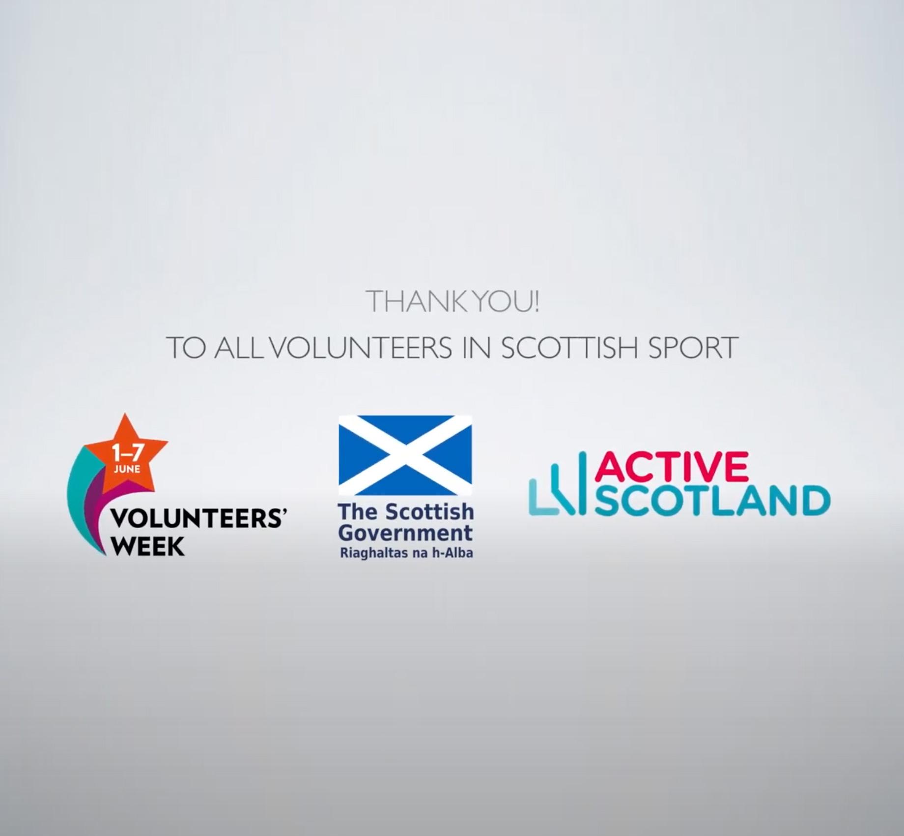 Volunteer thanks