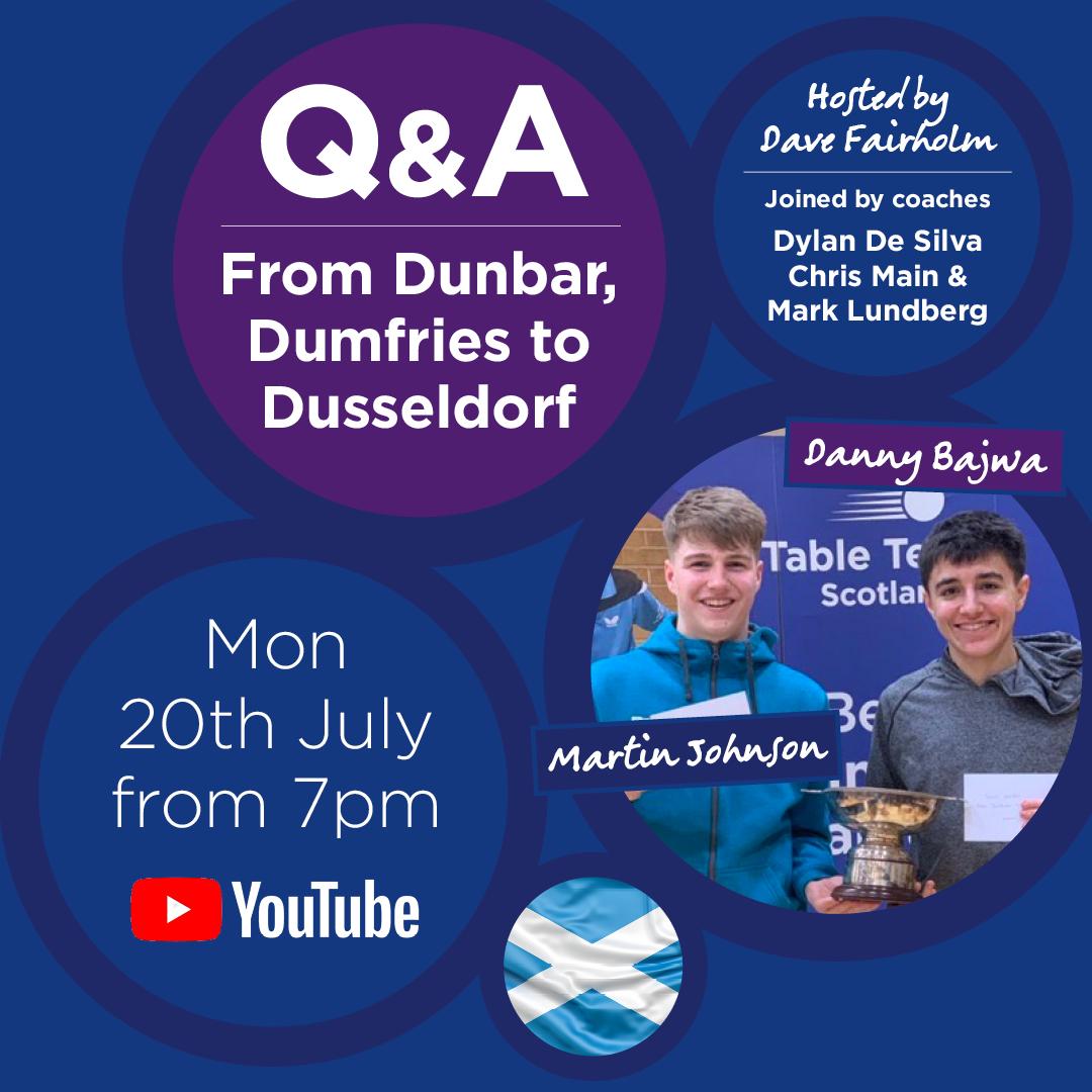 From Dunbar, Dumfries to Dusseldorf