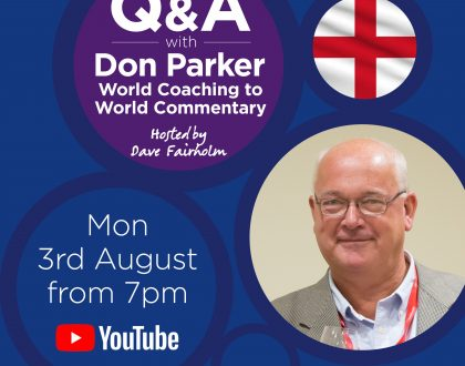 Don Parker – World Coaching to World Commentary