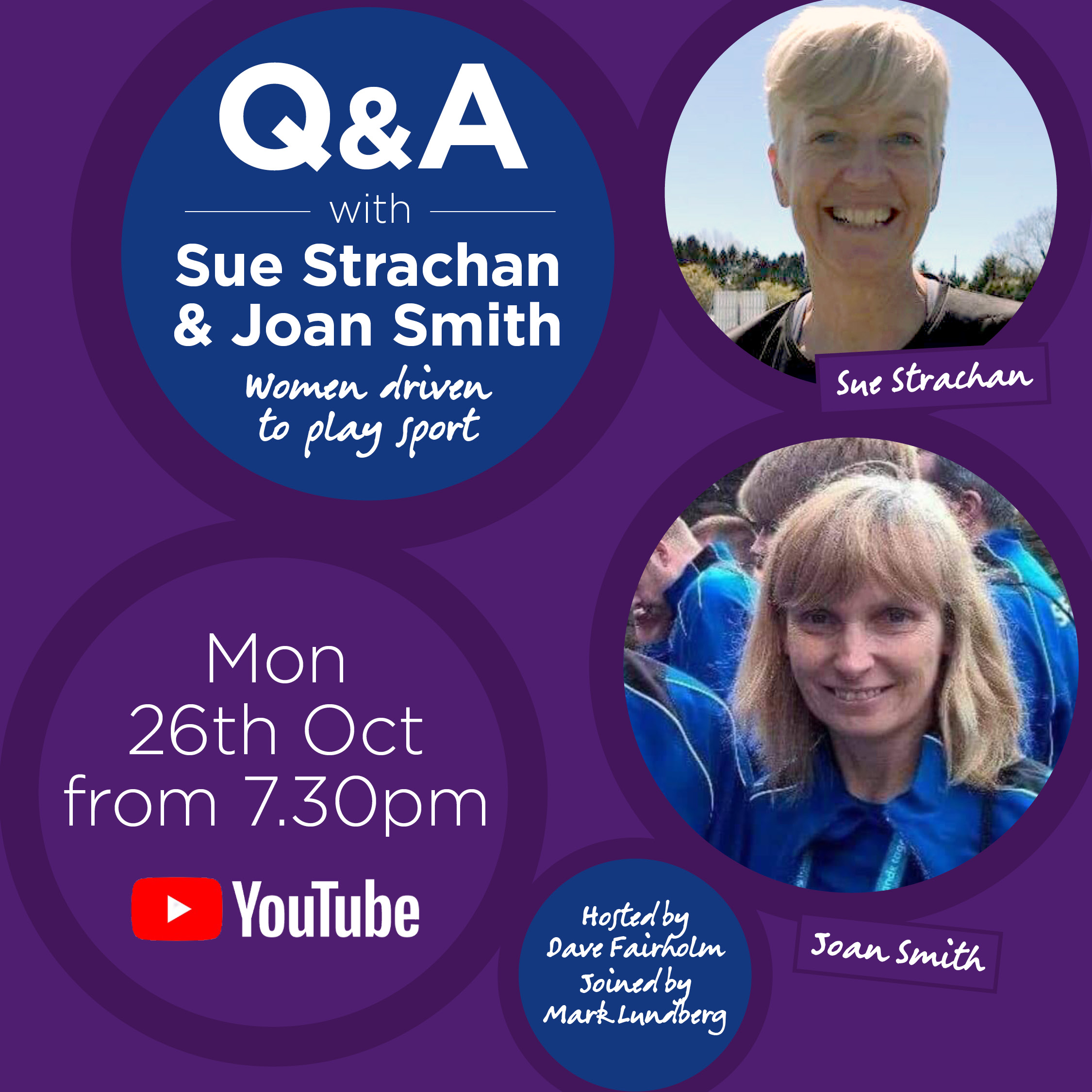 Q&A with Sue Strachan and Joan Smith