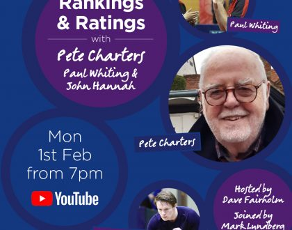 Peter Charters talks Rankings and Ratings