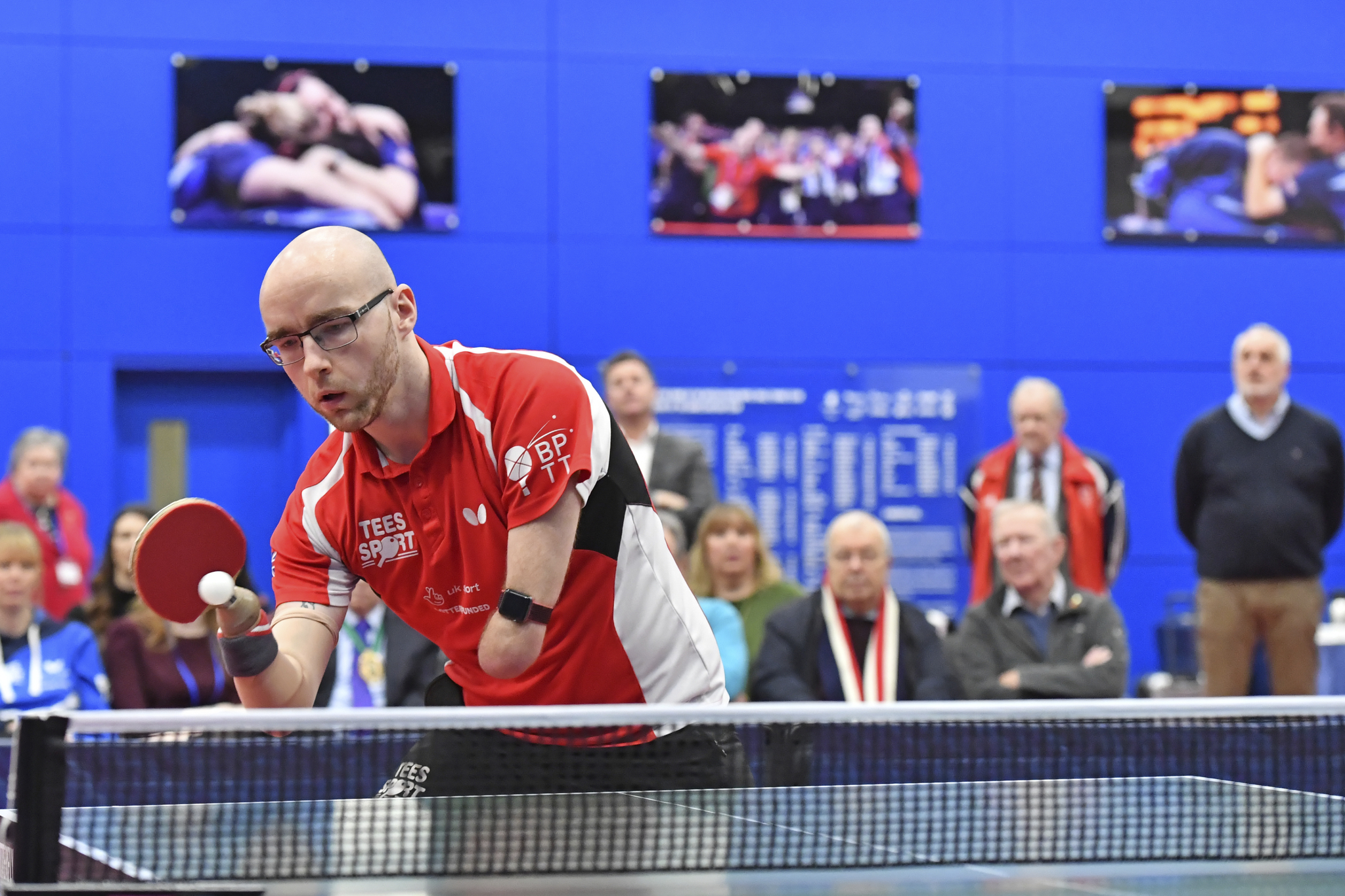 Butterfly and British Para Table Tennis